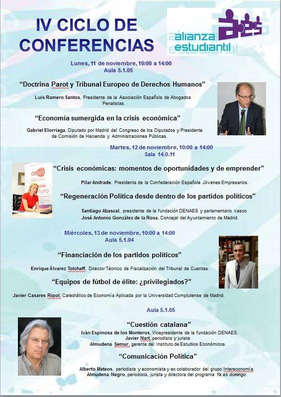 Conferencia de Luis Romero