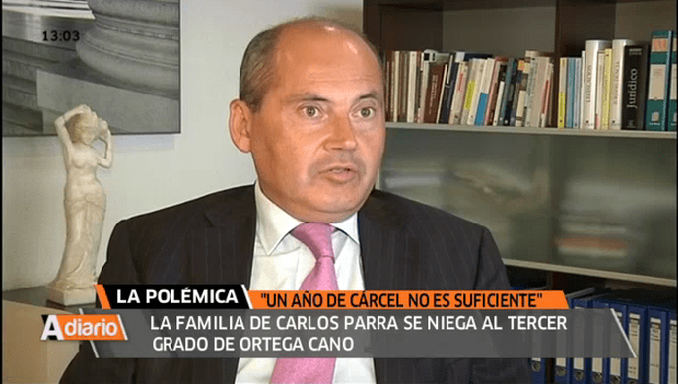 Tercer grado a Ortega Cano